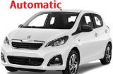 Peugeot 108 a/c 5 door  4 passenger Automatic or Similar Group...