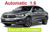 Fiat Tipo 1.6 a/c 4 door large trank space 5 passenger Automatic