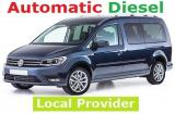 VW Caddy Maxi long a/c 7 passenger Automatic Turbo DIESEL 1.6 Economy Minivan or similar.