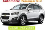 Chevrolet Captiva SUV 2.4 a/c Automatic 7 Passenger or Similar SUV rental in Athens