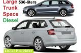 Skoda Fabia Combi DIESEL a/c 5 door 5 passenger, fit more suitcases Manual or Similar