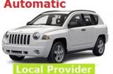 Jeep Compass 2.4 a/c 4x4 5 door 5 passenger SUV Automatic or Similar