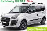 Fiat Doblo Diesel Minivan rental in Thessaloniki 1.6 a/c 7 passenger Manual or Similar