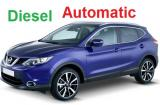 Nissan Qashqai DIESEL SUV Automatic a/c 5 door 5 passenger or Similar..